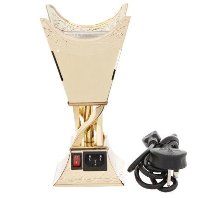 إديسون مبخرة كهربائية ذهبي صغير