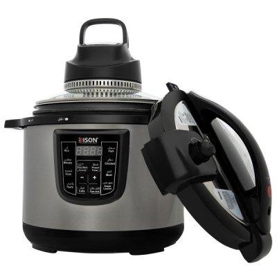 إديسون جهاز طبخ متعدد الوظائف 10 لتر قدر ضغط و شواية