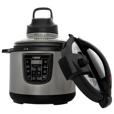إديسون جهاز طبخ متعدد الوظائف 6 لتر قدر ضغط و شواية