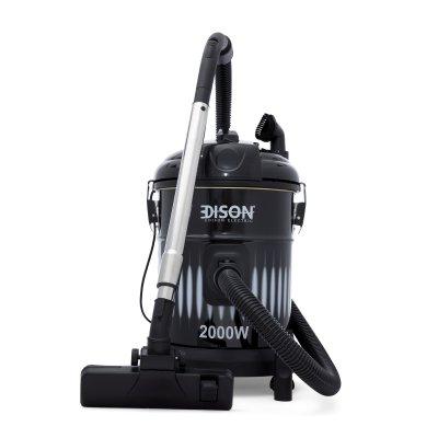 إديسون مكنسة كهربائية برميل 22 لتر أسود 2000 واط