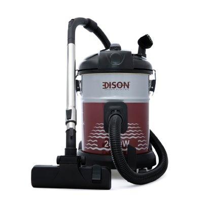 إديسون مكنسة كهربائية برميل 25 لتر أحمر 2000 واط
